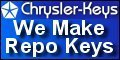 Chrysler Repossession Service Locksmith - Discount Chrysler Repo Keys